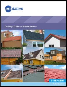 Catálogo Cubiertas Habitacionales - Prodalam